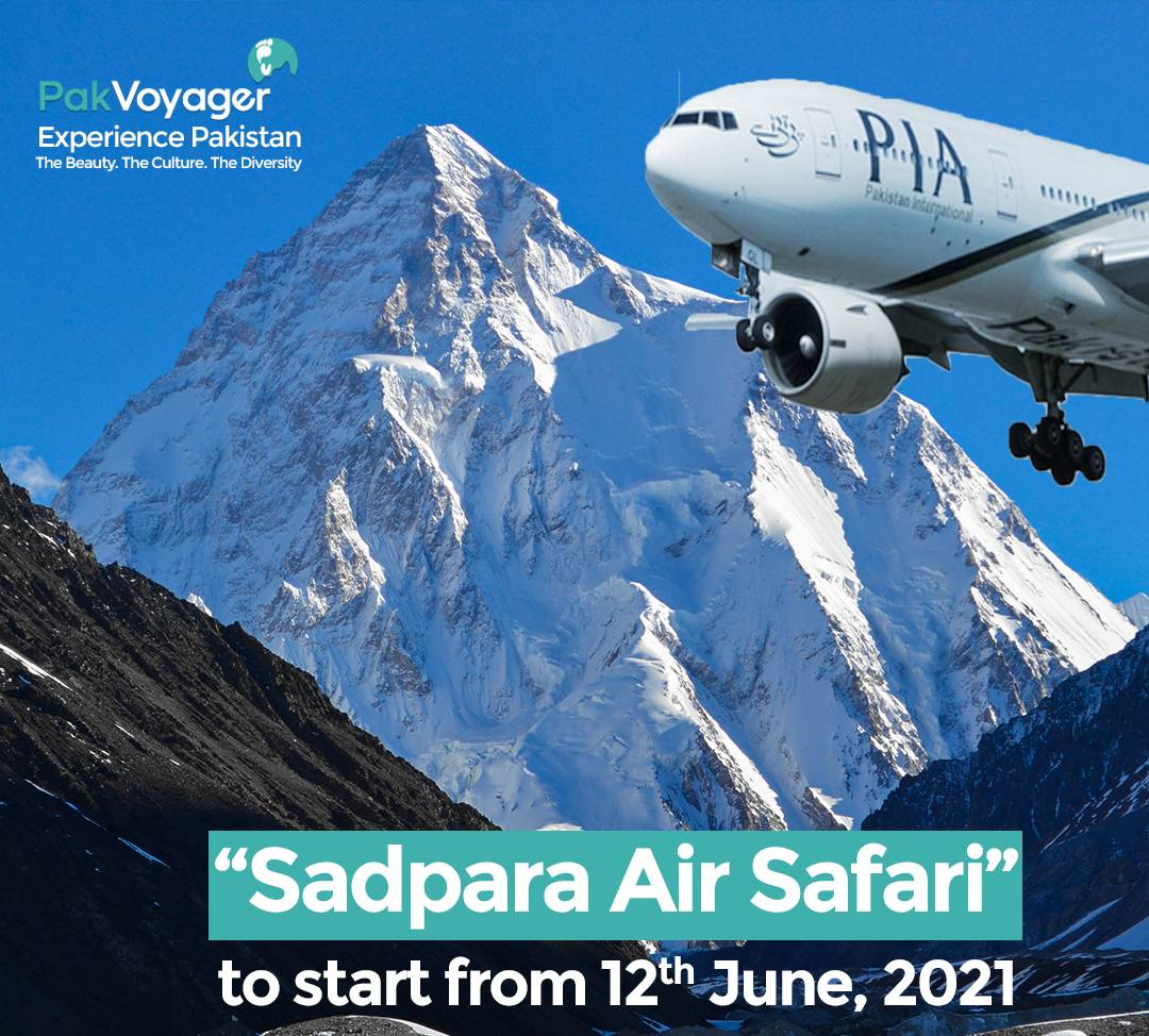 Air Safari to Northern Pakistan by PIA