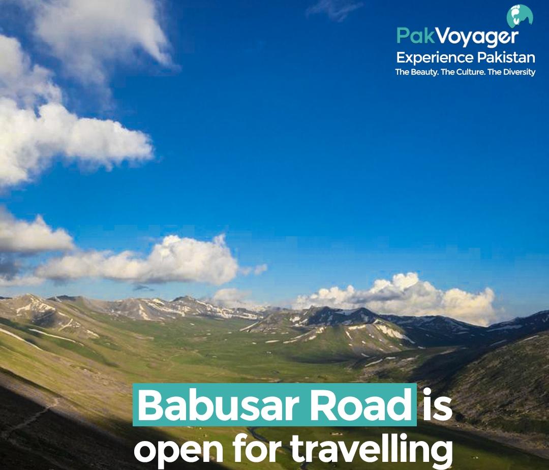 Babusar Road is Open Now